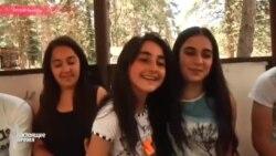 Erməni və azərbaycanlı uşaqları bir arada