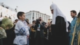 Belarus - Russian Orthodox Patriarch Kirill in Minsk, 13Oct2018