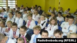 Учні української школи в Бартошицях