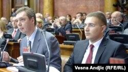 Aleksandar Vučić i Nebojša Stefanović