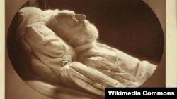 Hüqo ölüm yatağında. 1885
