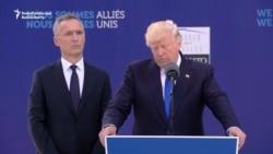 Tramp NATO ýaranlaryna goranyş çykdajylary barada leksiýa berdi