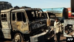 In recent days, militants have attacked NATO oil tankers near Peshawar