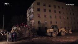 В Кызылорде обрушилось общежитие