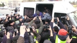 Kazakh Police Detain Dozens Of Activists Ahead Of Opposition Rally
