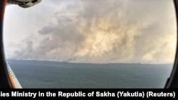 Лесные пожары в Сибири, лето 2019