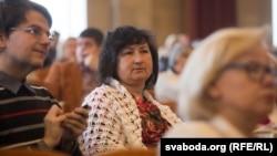 Алена Анісім на Кангрэсе беларускай культуры