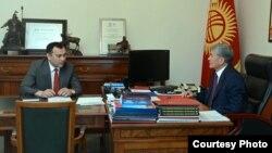 Алмазбек Атамбаев жана Темир Жумакадыров