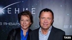 Дочь Ельцина Татьяна Юмашева и ее муж Валентин Юмашев. Архивное фото.