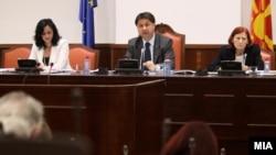 Архивска фотографија: Претседателот на Собраниската комисија за финансирање и буџет Марјанчо Николов од СДСМ.