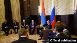 Встреча президентов России и Армении в Сочи, 9 августа 2014 г.