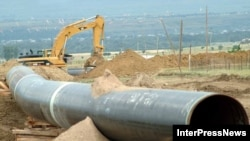 Bakı-Tbilisi-Ceyhan neft kəmərinin Borjomi vadisində tikinti prosesi