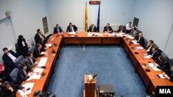 Седница на собраниската Комисија за надзор над работата на Управата за безбедност и контраразузнавање и на Агенцијата за разузнавање.
