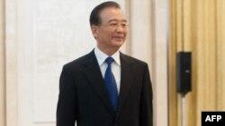 Қытай премьер-министрі Вэнь Цзябао.