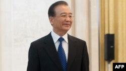Премьер-министр Китая Вэнь Цзябао.