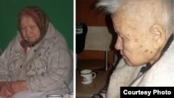 Татьяна Махова, житель дома престарелых в Ямме