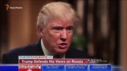 Трамп: крымчане «сами выбрали Россию» (видео)