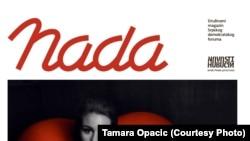 """U prvom broju časopisa """"Nada"""" čitatelji mogu pročitati intervju sa glumicom Tihanom Lazović koja je, osim što je dobitnica brojnih nagrada, također vrlo angažirana na polju zaštite ženskih prava i borbe protiv govora mržnje."""