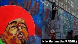 Графіці на вуліцах Каіру