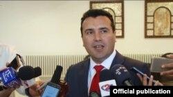 Macedonian Prime Minister Zoran Zaev (file photo)