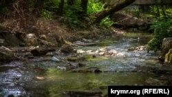 Река Салгир, архивное фото