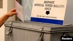 Glasačko mjesto u San Diegu