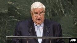 Ministri i Jashtëm sirian Walid Al-Moualem