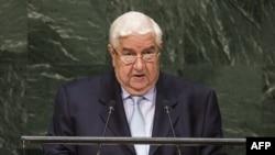 Шефот на сириската дипломатија Валид ал Муалем