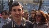 """Видео: """"Нұр-Сұлтан"""" атауына қарсы шыққан студент оқуға қайта оралды."""