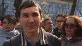 Участник протеста восстановлен после отчисления. Видео Азаттыка.