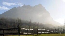 Vîrful Bugarach în Franța