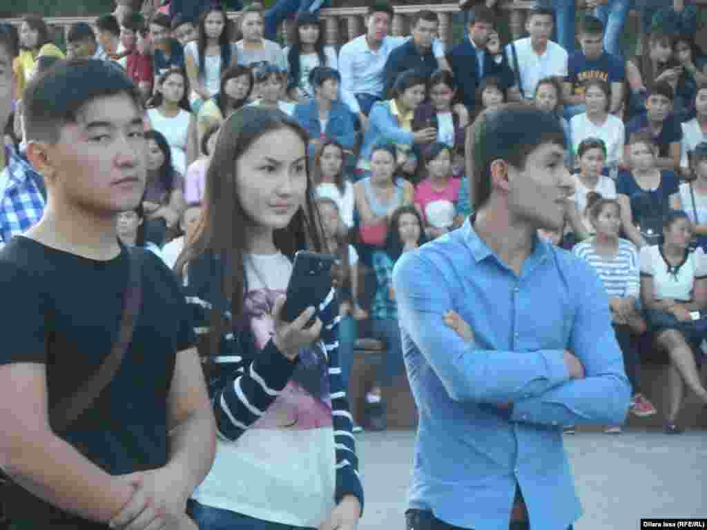 Зрители фестиваля «Студенческая пора».