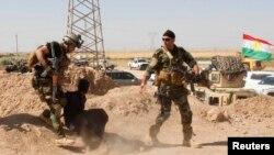 Իրաքում քրդական անվտանգության ուժերը ձերբակալել են մի մարդու, ով, ենթադրաբար, «Իրաքի և Լևանտի մահմեդական պետություն» շարժման զինյալներից է: Կիրկուկ, 16 հունիսի, 2014թ.