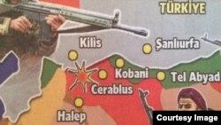 Turkey. Leaflet Against Islamic State