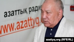 Лидер Коммунистической партии Казахстана Газиз Алдамжаров.