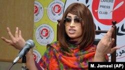 Qandeel Baloch was strangled in July 2016 in a killing that shocked many people in Pakistan.