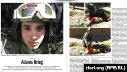 """""""Өлтүргүчтөр командасынын"""" кылмышын ашкерелеген Der Spiegel журналындагы сүрөттөр. 21-март, 2011-жыл"""