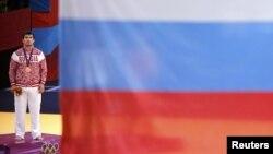 Flamuri rus në Lojërat Olimpike në Londër