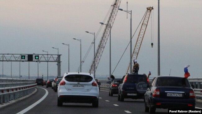 Керченский мост после открытия