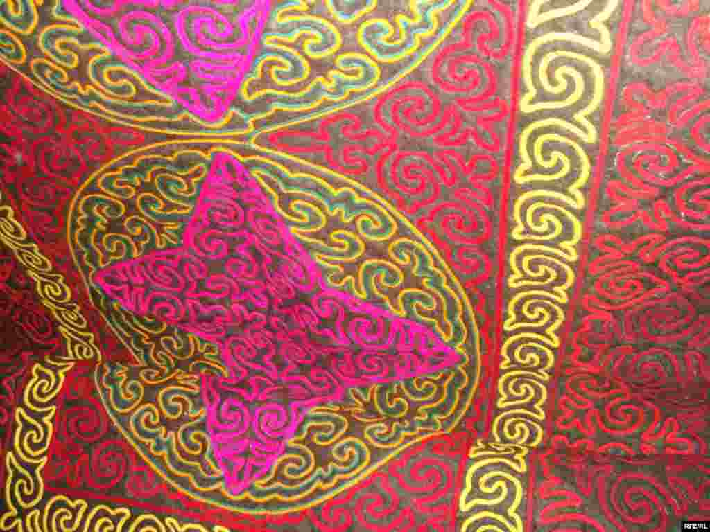 Многообразие кыргызского орнамента #4