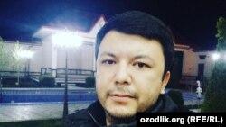 Муфаса тахаллуси остида блог юритадиган Мирсаид Ҳайдаров.