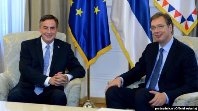 Vučić pokušao da malo manipuliše izjavama gospodina McAllistera: Weber