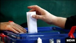 Voting has taken place in Iran for the second round of parliamentary elections.