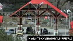 КПП «Верхний Ларс» на российско-грузинской границе (архив)