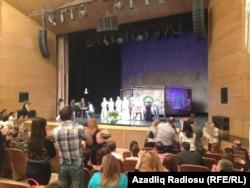 """Kamal Abdullanın """"Şair və şair"""" pyesinin premyerası, 23 may 2013"""