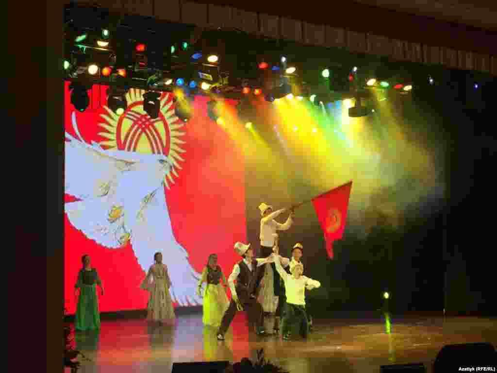 Празднование Нооруза в российском Хабаровске.