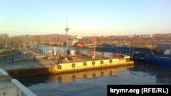 Керчь, паромная переправа, порт «Крым»