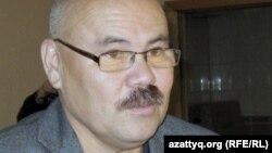 Кинорежиссер Қалила Омаров. Алматы, 14 қыркүйек 2010 ж.