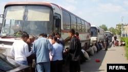 Աշխատանքային միգրանտները Տաջիկստանից մեկնում են Ռուսաստան, արխիվային լուսանկար