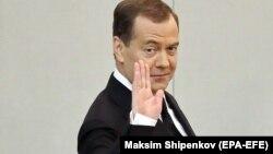 Дмитрий Медведев 17 апреля 2019